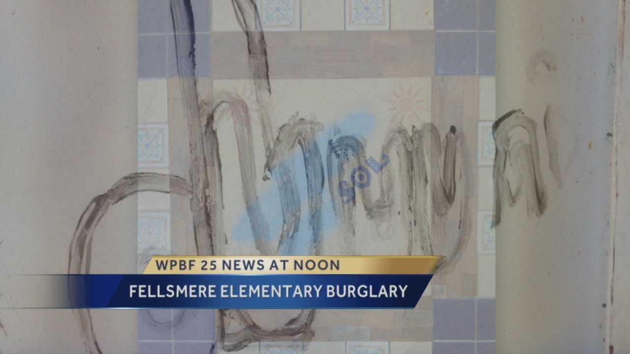 Treasure coast police search for school vandals