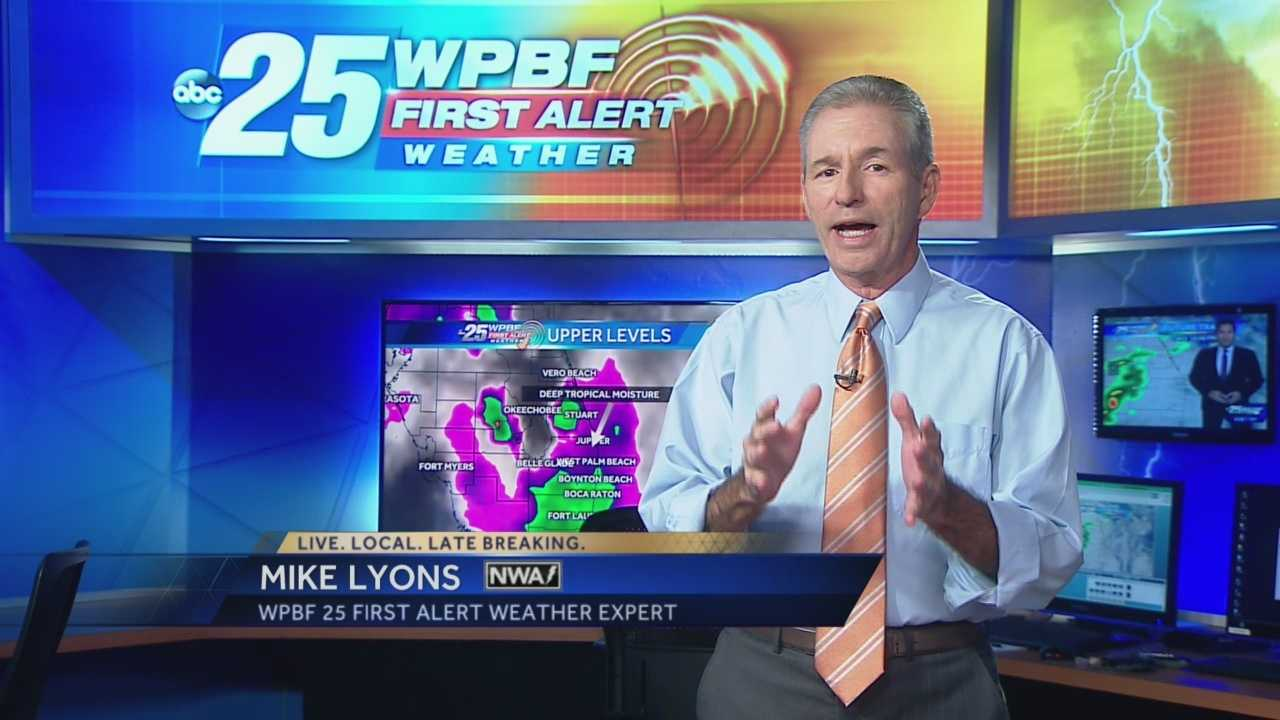 Severe weather expert Mike Lyons explains cause for frequent rainy weather pattern