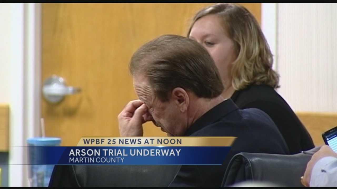 Joseph Haas arson trial gets underway