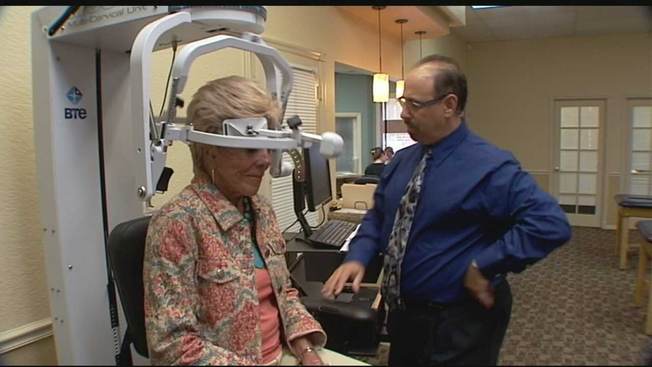 """The Multi-cervical unit isa revolutionary local treatment that doctors are calling """"a game changer"""" in curing neck pain."""