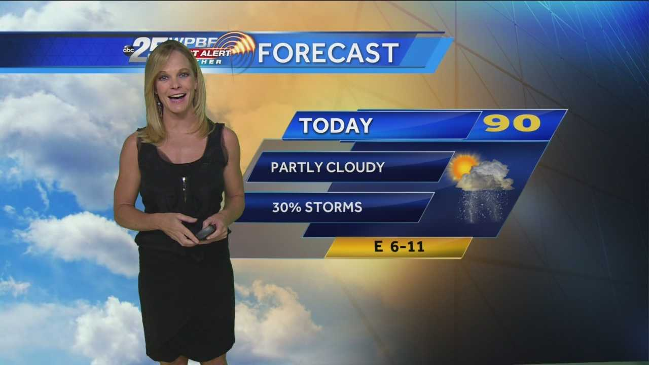 High and dry Friday, warm afternoon temperatures