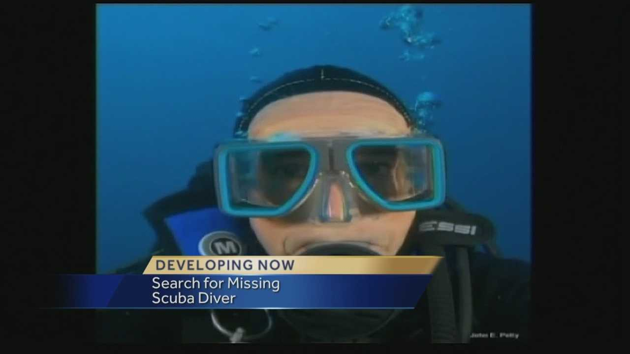 The U.S. Coast Guard confirmed Wednesday that they are still actively searching for a diver who went missing during a shark diving charter that left from Lake Park. The Coast Guard says he was diving off the Bahamas with eight other people Sunday night but never resurfaced.