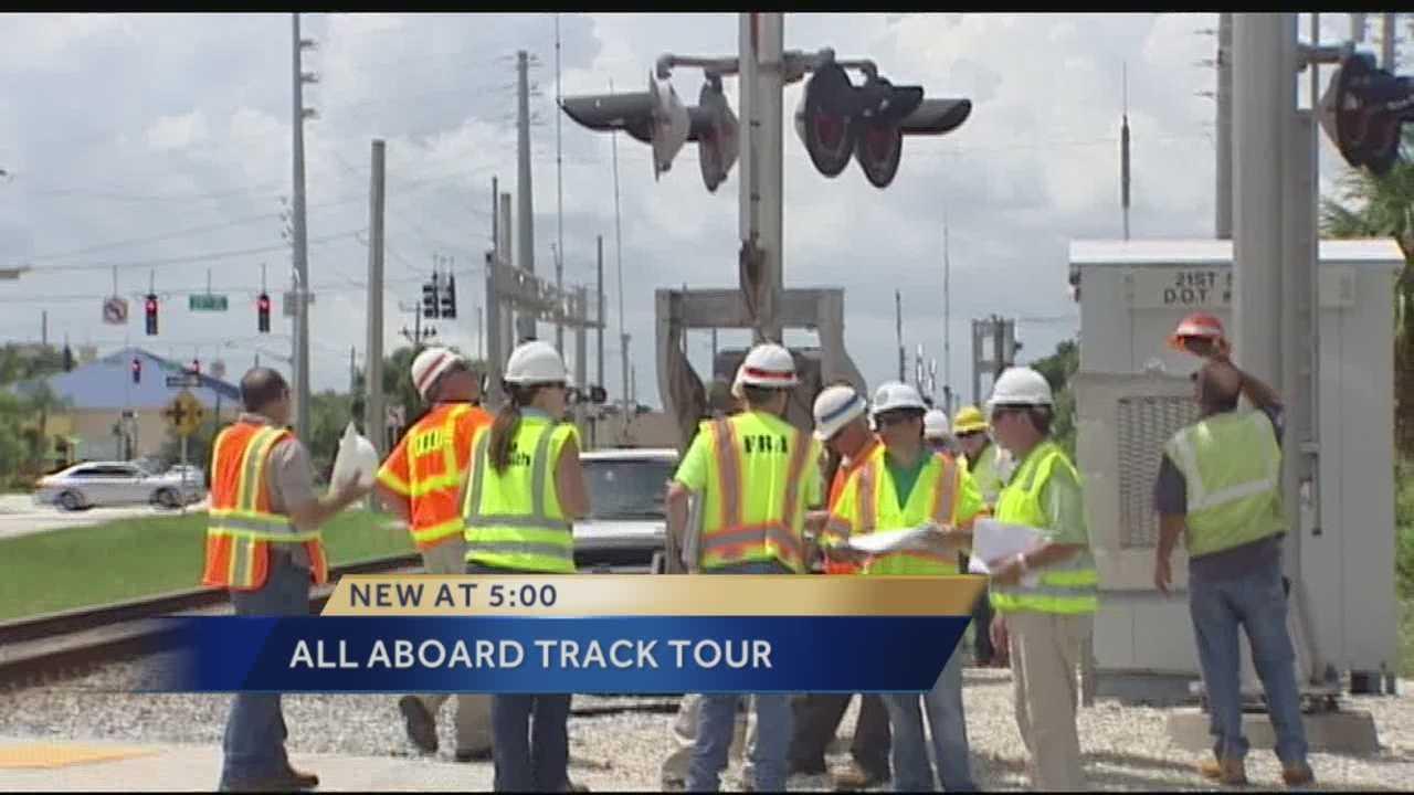 All Aboard Florida inspects tracks, chugs ahead