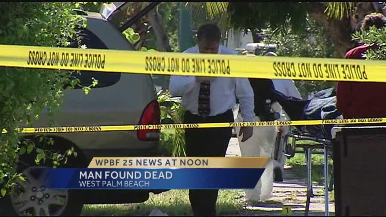 Man found dead in West Palm Beach
