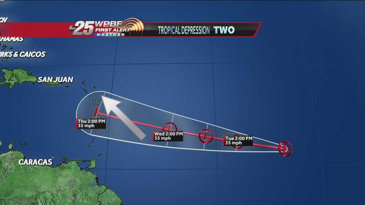 Tracking the Tropics: Tropical Depression #2
