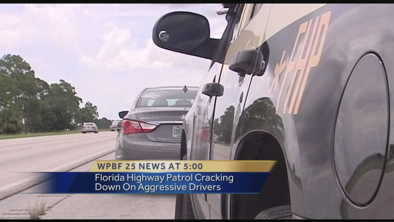 Florida Highway Patrol cracking down on aggressive drivers