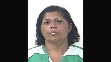 Bisai Indrawatie, 55, was arrested and is facing charges of grand theft and contributing to the delinquency of a minor, after she used her 13-year-old grandson to help her shoplift from a Walmart store, according to Port St. Lucie police.