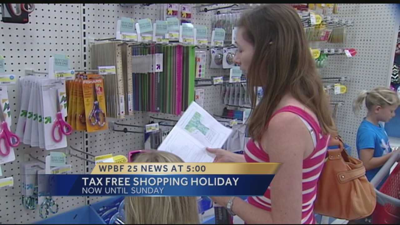 Florida's sales tax holiday gets underway