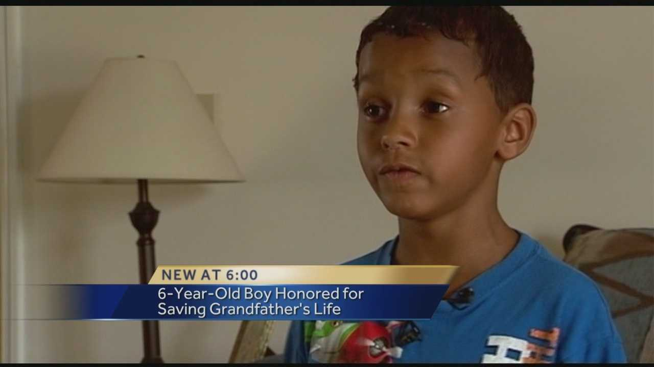 Boy dials 911, saves grandfather's life