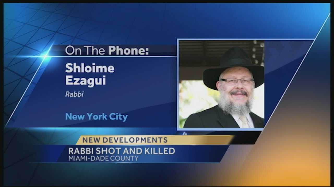 The family of a rabbi who was fatally shot while walking to a South Florida synagogue is demanding justice.