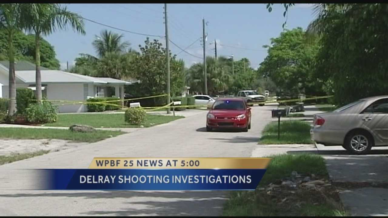 Delray Beach police are investigating two early morning shootings. The first happened just before midnight in the 300 block of North West 5th Avenue.