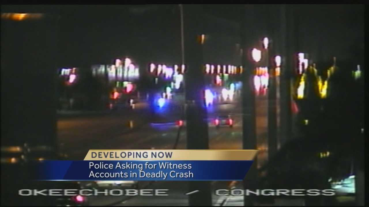Deadly crash on Okeechobee Blvd.