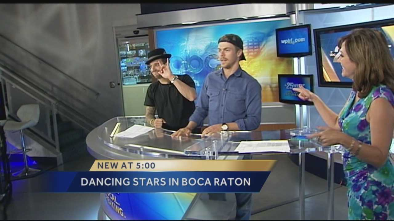 Dancing with the Stars: Mark Ballas, Derek Hough stop by the WPBF studio