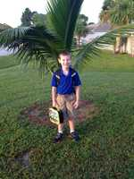 Ashton is ready for 2nd grade --From Coleen Haberman Teague