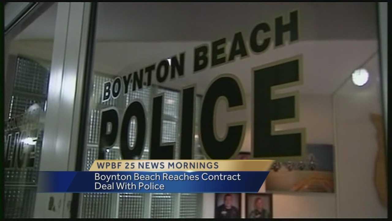 Boynton Beach reaches contract deal with police