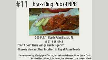 Click here to visit Brass Ring Pub's website. There are actually two locations!