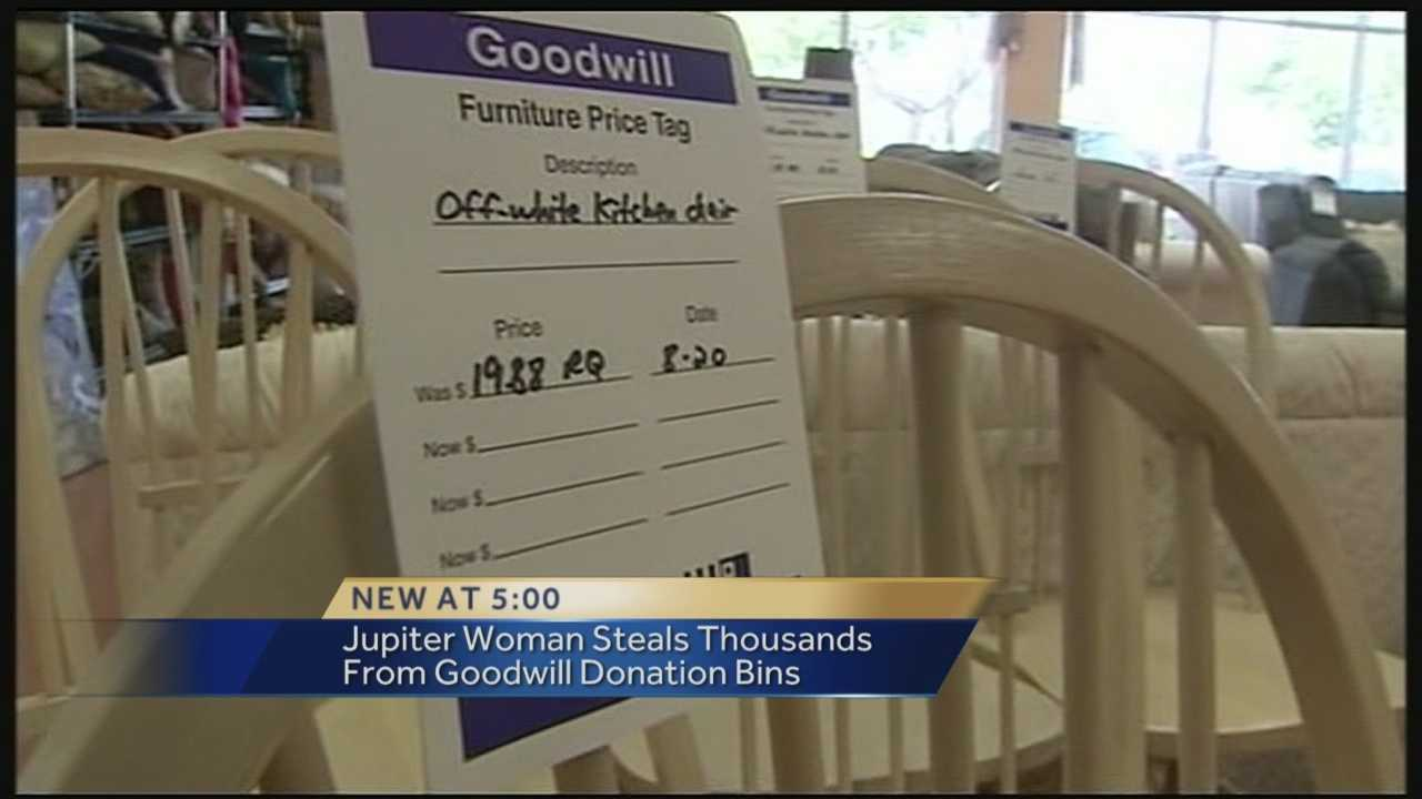 Arrest made in Goodwill thefts