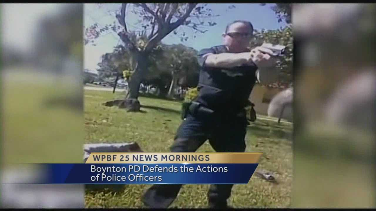 Boynton Beach's police chief is the defending the actions of his officers after video of a traffic stop surfaces online more than a year after its recording. Reporter Chris McGrath has the story and statement from police chief Jeffrey Katz.
