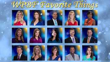 WPBF's Favorite Things list is not about selling products, it's about sharing the things that make our news team happy with the viewers that support us everyday. Get to know our anchors, reporters, and meteorologists --Plus some of their must-have recommendations just for you.