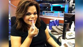 "WPBF 25 Anchor Felicia Rodriguez's favorite things:""The Clinique Chubby stick I use everyday. It's moisturizing on my lips and comes in great shades. Of course, in my makeup bag you will find every brand of makeup. I'm not loyal to just one, I use what works for me. From Armani foundation, to Nars bronzer and MAC eyeshadows!"""