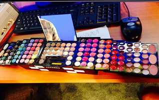 "WPBF 25 Meteorologist Vanessa Vinet's favorite things:""This is my togo sephora makeup kit for work or outings, has everything a lady needs!"""