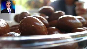 WPBF 25 Paul LaGrone's favorite things:chocolate almonds