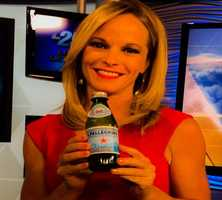 "WPBF 25 Meteorologist Sandra Shaw's favorite things:""The bubbly in the pelligrino makes me happy & wakes me up!"""