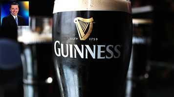 "WPBF 25 Reporter Chris McGrath's favorite things:""A nice pint of Guinness."""