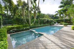 Massive jacuzzi and pool area, perfect for outdoor entertaining.