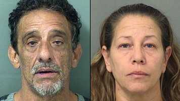 Deputies with the Palm Beach County Sheriff's Office arrested Nelson Lopez and Allison Lopez on charges of drug possession and drug paraphernalia.