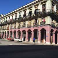 Cuba building from the 1700s.