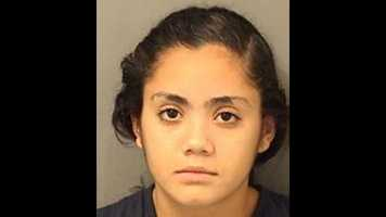 Lety Hernandez, 17, is charged with manslaughter and is in jail on $10,000 bond.