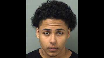 Tyrone Cruz, 18, faces charges of robbery.