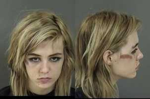 Kady Causey, 20, is facing two counts of burglary to an occupied dwelling and one count of auto burglary.