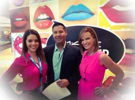 Your First Alert Weather Team! Vanessa Vinent, Cris Martinez, and Sandra Shaw!