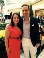 WPBF 25 News Mornings' Stephanie Berzinski and Paul LaGrone!