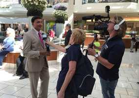 Photo via Dipnarine Maharaj MD: Getting interviewed for @WPBF25News #DrOzFest