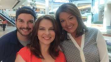 John Costa, Stephanie Berzinski and Erin Guy -- all smiles!