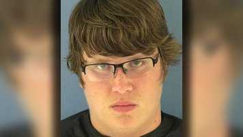 Aaron Hill, 17, is facing charges of aggravated assault with a deadly weapon, possession of drug paraphernalia, possession of alcohol under the age of 21, and disorderly conduct.
