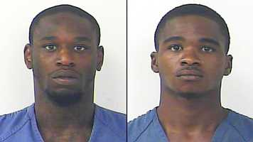 James Frederick, 23, and Delroy Cole, 25, are charged with possession of cocaine with intent to sell.