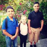 Alex, Skylar and Elijah