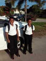 3rd Grade Twins Zavant and Zamire Windmill Point School PSL