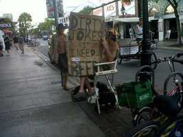 As seen in Key West.