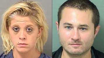 Courtney Blakley (left) and Kiel Sheppard (right) are facing charges of child neglect.