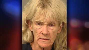 Debra Ellen Gleason, 61, is charged with battery and was additionally charged with introducing a controlled substance into a detention facility.