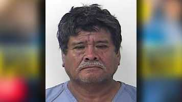 Pedro Urbina Ramirez, 59, is charged with 1 count of lewd and lascivious behavior -- molestation of a victim less that 12 years of age and 1 count of lewd and lascivious behavior -- conduct by a person 18 years of age or older.