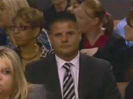 May 2011: Mike Dippolito sits in the courtroom as the verdict is read.