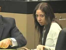 April 2011: Dalia Dippolito sits in the courtroom during the first day of jury selection in her trial.