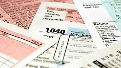 Tax forms, taxes, money