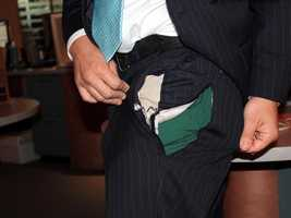 WPBF reporter Chris Emma tore his pants on Election Day. Poor guy, but left us all impressed.